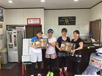 7月23日(日)P.M.G杯(女子ダブルス団体戦DE級)