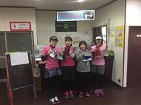 2月25日(日)ギフト争奪戦(女子ダブルス団体戦CD級)