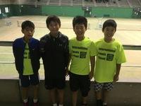 少年スポーツクラブテニス福岡県大会!