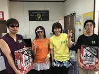 8月6日(日)S.D.G杯(男女ダブルス団体戦BC級)
