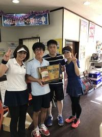 10/8(月・祝)男女ダブルス団体戦(BC級)結果