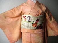 花の丸刺繍帯☆