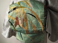 日本刺繍の名古屋帯☆