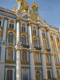 サンクトペテルブルグの 豪華な エカテリーナ宮殿 !!!
