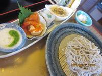 6月 福島で おいしいお蕎麦 を食べました !!!