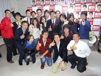 福田紀彦さん、川崎市長選挙、おめでとうございます。