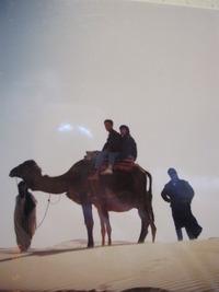 サハラ砂漠での一夜