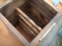 ミツバチくんの巣箱のパーツ作り直し・・・