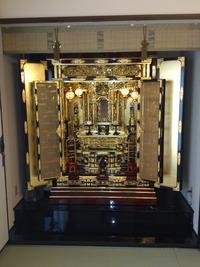 お仏壇は伝統工芸です