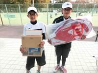 2月19日(日)春日公園 小学生テニス大会の結果です。