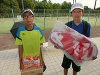 5月21日(日)春日公園ジュニアシングルステニス大会の結果