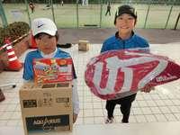 1月14日(日)春日公園 小学4年生テニス大会の結果です。
