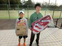 1月21日(日)春日公園ジュニアシングルステニス大会の結果です。