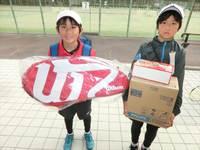 2月18日(日)春日公園 小学生テニス大会の結果ですヽ(•̀ω•́ )ゝ✧
