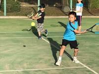 夏日になりました((゚ □ ゚ )汗かいてテニスだっ!