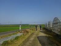 川辺農園を空から・・