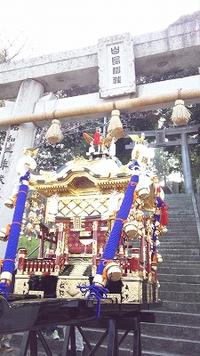 新装 白鳥神社お神輿