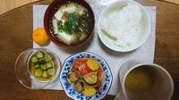 今日の朝食☆アヒージョ(レシピ)