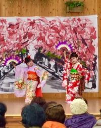佐賀城下ひなまつりイベントで(祇園小唄)