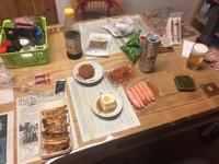 自宅で一人飯