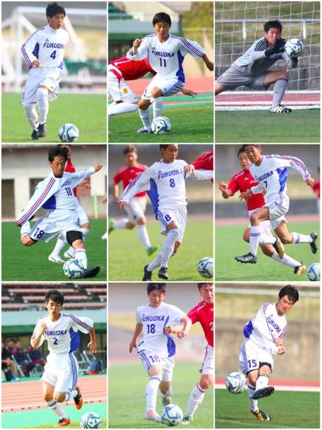 国体福岡U-16サッカー