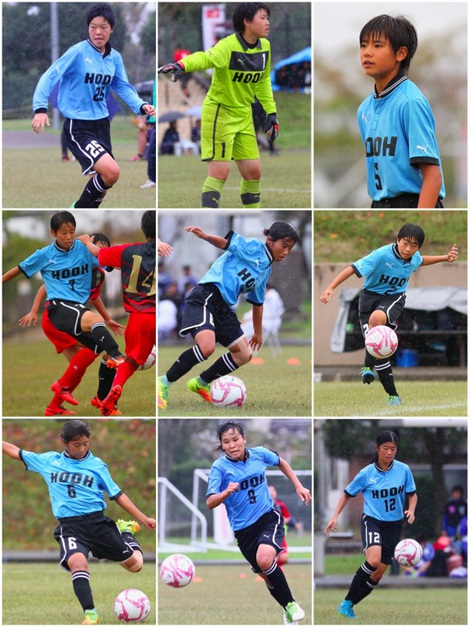 鳳凰高女子サッカー部