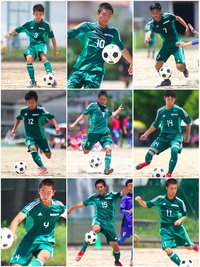 西南学院高校サッカー部(191枚)