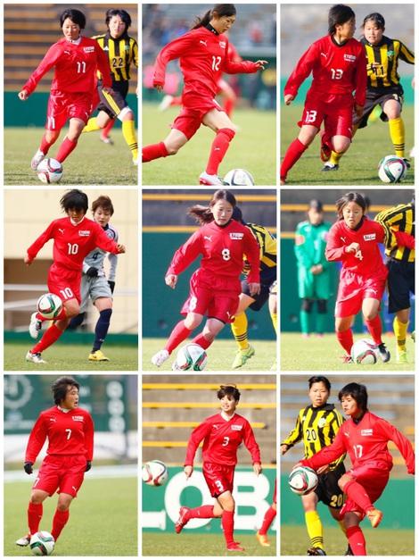 U-17九州トレセン女子サッカー