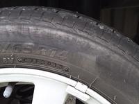 タイヤの亀裂