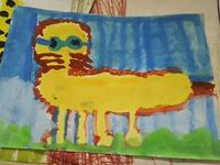 子供の頃に書いた絵