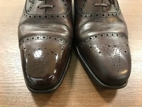 梅雨でも靴修理!!磨き、防水サービスしてます!!