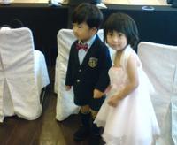 みんなで結婚式へ☆