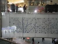 博多駅のタイル画100年つづきますよーに