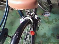 自転車に落書き