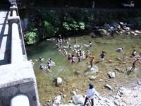 川遊び・・・