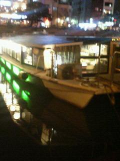 今夜は、はかた舟!