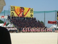 八女福島高校体育祭