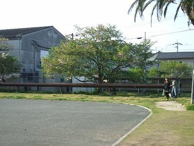 鉄道跡、福島駅
