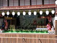 八女福島の燈籠人形とあかりとちゃっぽんぽん