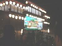 夜の福島燈籠人形もいい感じ・・・・