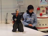 黒田節を舞うロボット