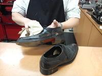 カンタン革靴メンテナンス(つや革)