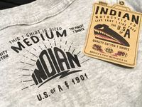 IndianMotorcycle × NowhEreman☆限定Tシャツ到着!