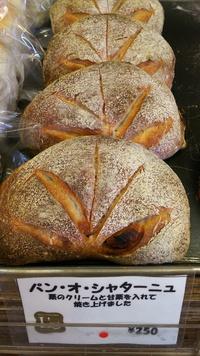 栗のパン  パン・オ・シャターニュ
