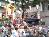 博多祇園山笠-流れ舁き