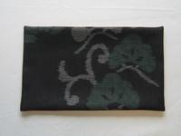 夏の大島紬で作った敷物