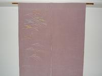 鶴が舞う暖簾