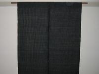 麻の紬地で作った暖簾