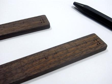 小泉誠さんデザイン木の定規