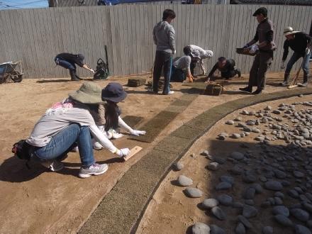 庭作りワークショップ